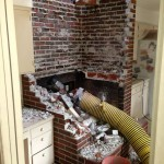 Fireplace removal 5