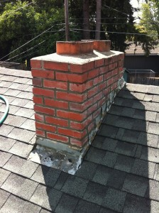 New mortar installed