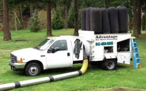 Dryer Vent Cleaning Truck